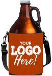 Beer Growler Cooler W/Strap